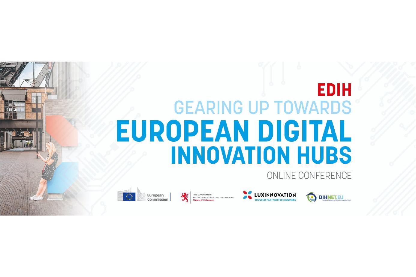EDIH2021 conference banner