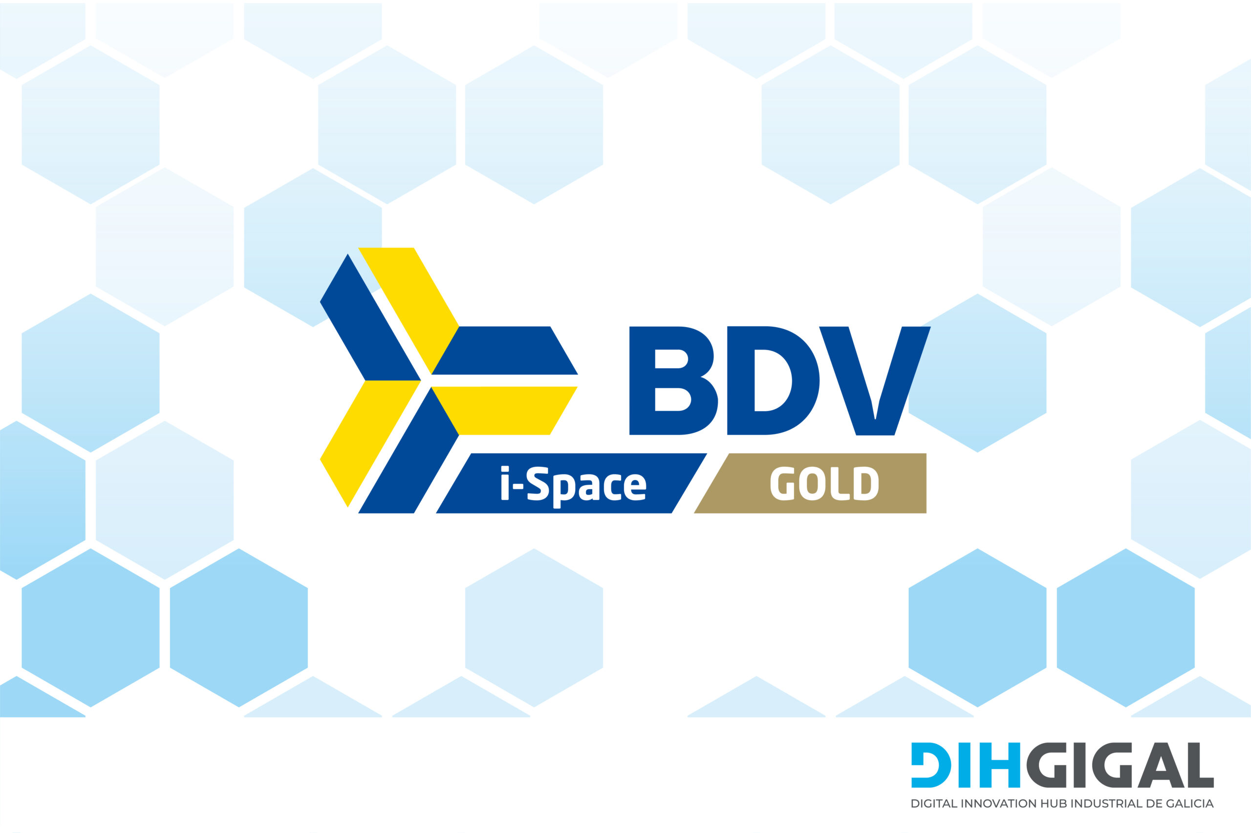 Gold i-space label
